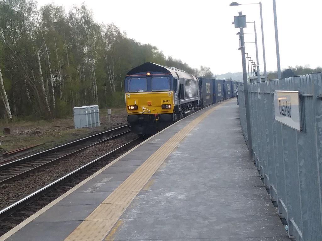 Direct Rail Services Class 66 66122