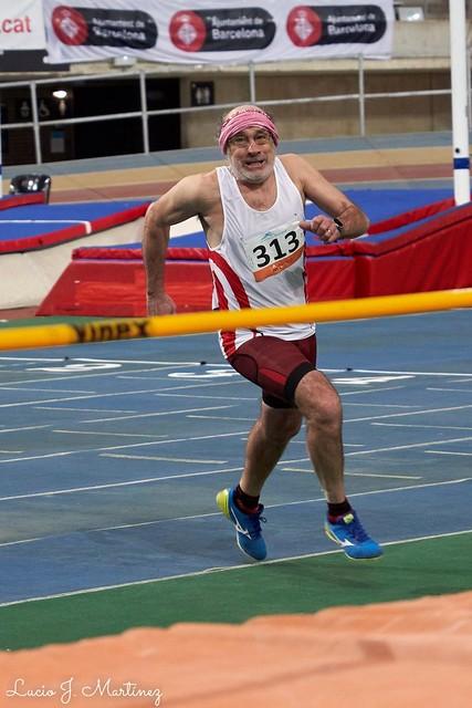 Atletismo Máster. Campeonato de Cataluña Indoor. Salto de Altura. El reto.