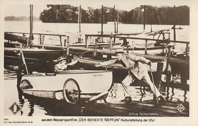 Julius Falkenstein in Der behexte Neptun