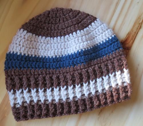 Striped Lakeside Hat