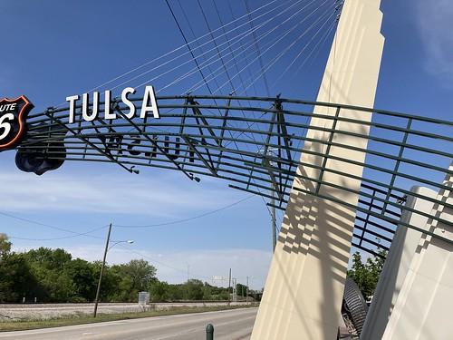 West Tulsa Route 66 Gateway
