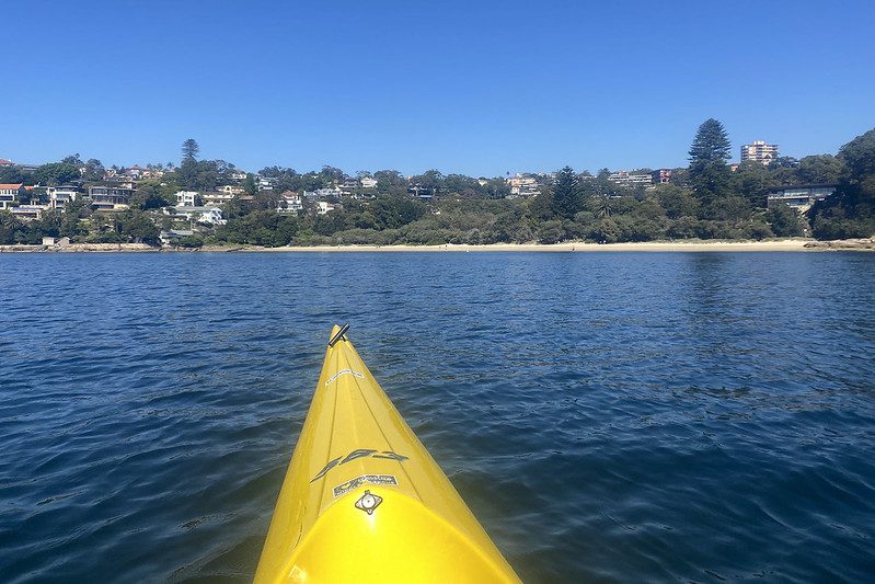 Kayaking on Middle Harbour