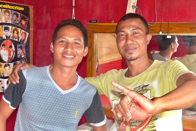 Brothers from Bima, hairdressers - Penata Rambut, Kalabahi, Alor NTT