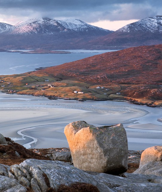 Luskentyre and Mountains of Harris
