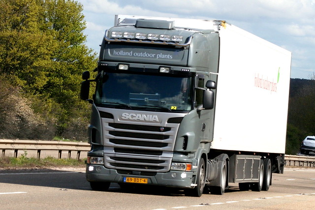 SCANIA R SERIES 69-BDT-4 (NL) HOLLAND OUTDOOR PLANTS