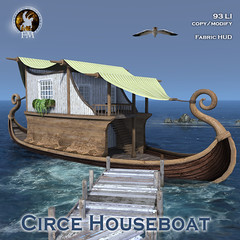 F&M * Circe Houseboat @ FANTASY FAIRE 2021