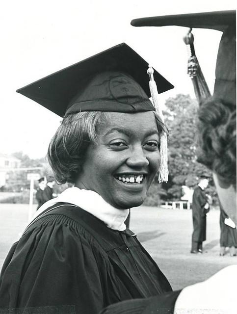 Josetta Brittain Matthews at an Auburn University graduation