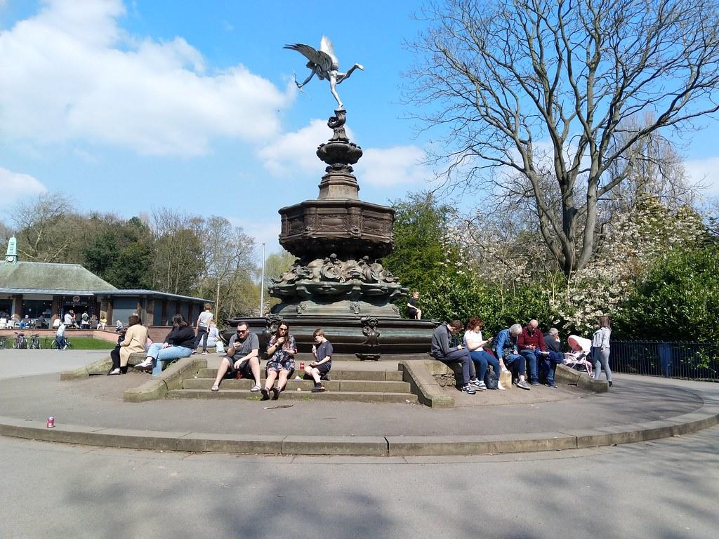 Statue of Eros, Sefton Park, Liverpool