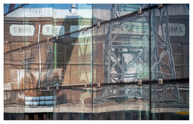 Reflection of Machinefabriek de Schelde