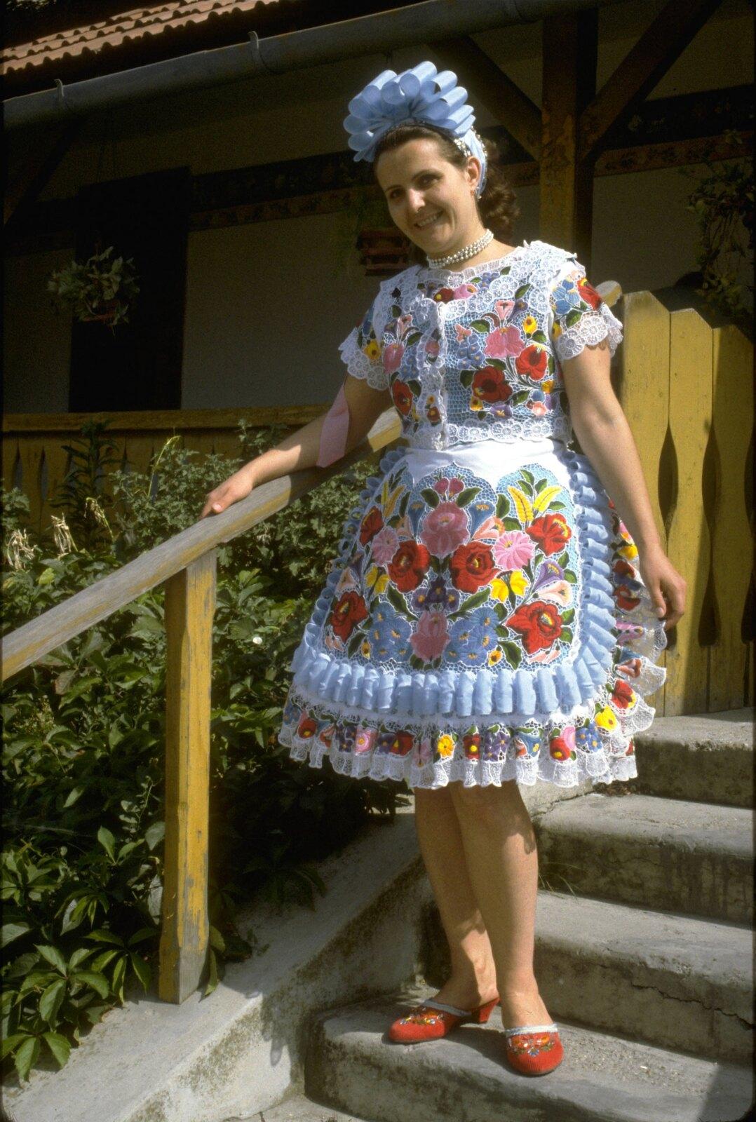 30. Традиционное венгерское платье