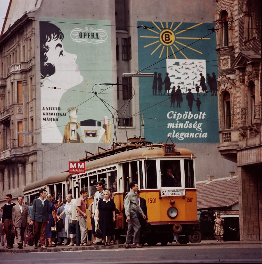 08. Трамвай в Будапеште