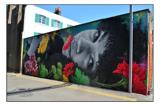 LONDON STREET ART by ZABOU