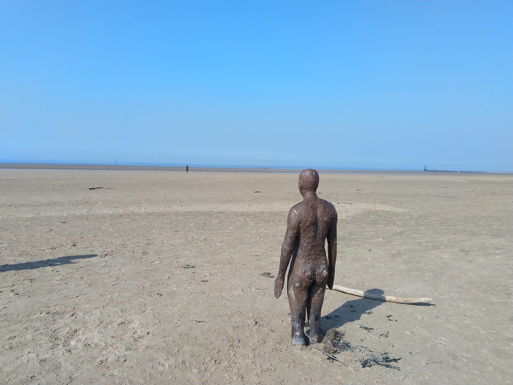 Another Place, Crosby Beach, Liverpool