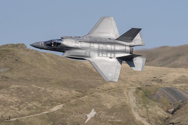 NITRO12 ZM139/BK-05 RAF F-35B Lightning Low Level in the English Lake District