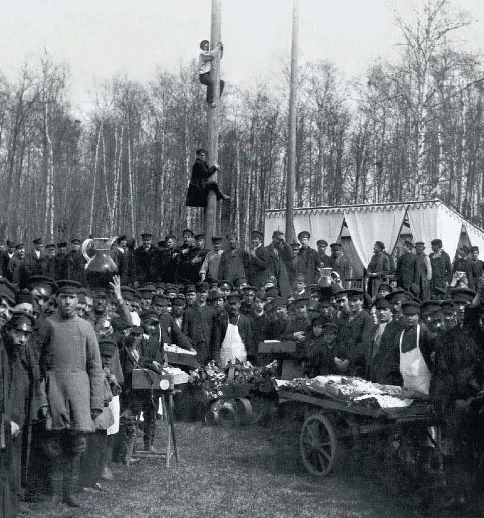 1913. Аттракционы в петровском парке