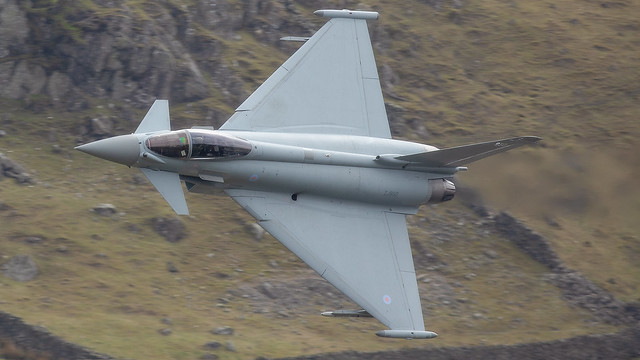 9 Squadron Eurofighter Typhoon LFA17 21-4-21
