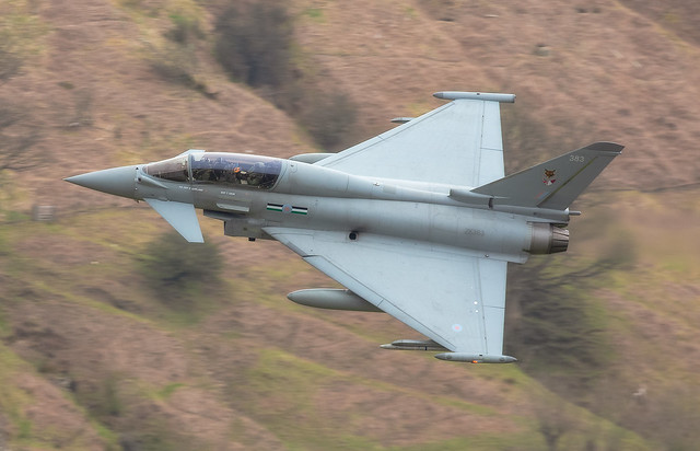 !2 Squadron Eurofighter Typhoon LFA17 21-4-21