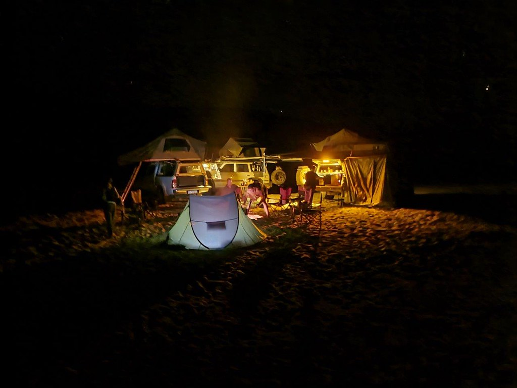 Camping within the Doringriver @ Gifberg