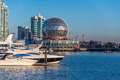 Vancouver skyline. From Discover Canada: a Traveller's Guide