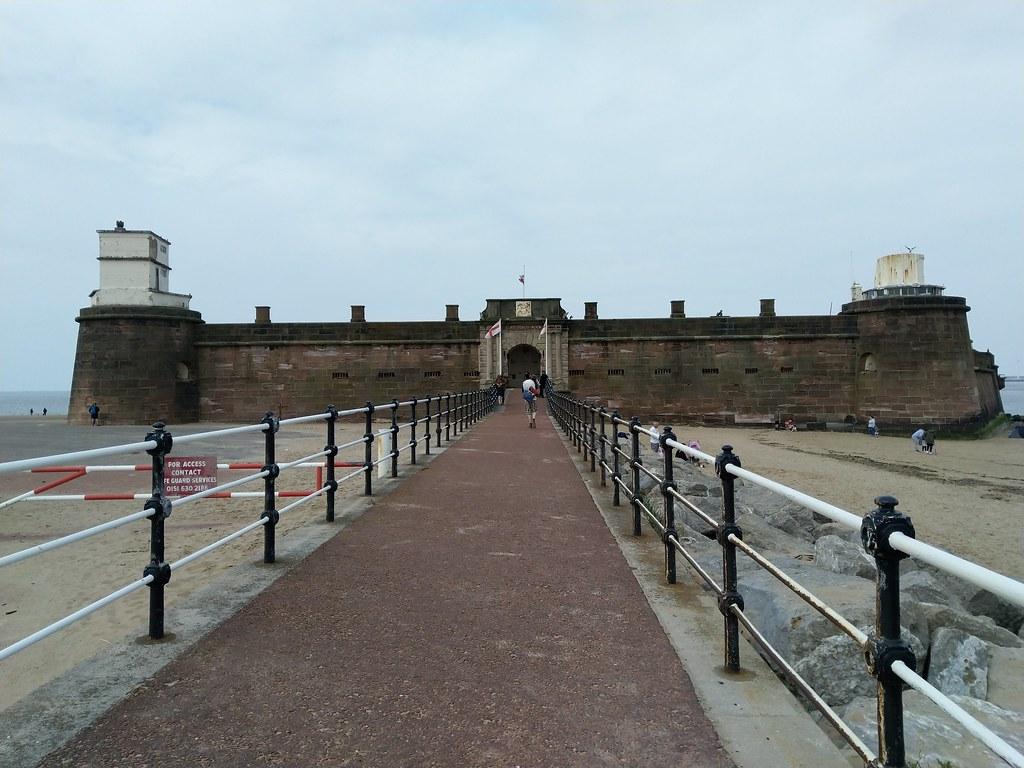 Fort Perch Rock, New Brighton, Liverpool