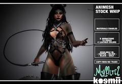 kosmii & Mythril :: Animesh Stock Whip