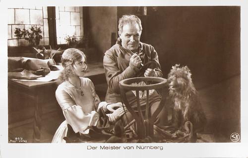 Maria Solveg and Rudolf Rittner in Der Meister von Nürnberg (1927)