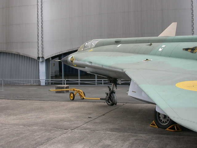Saab Drakken JA.35A