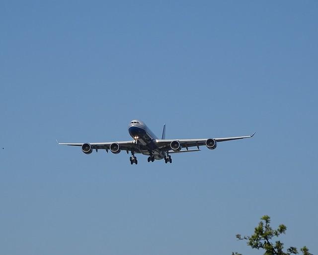 Las Vegas Sands A340-500 VP-BMS finals 09L