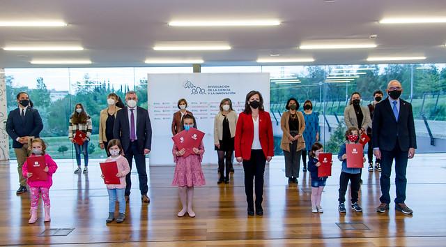 Entrega de premios #ExperimentaenCasa