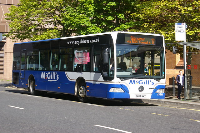 McGILL'S GREENOCK J3314 GK04NWX KT03BUS