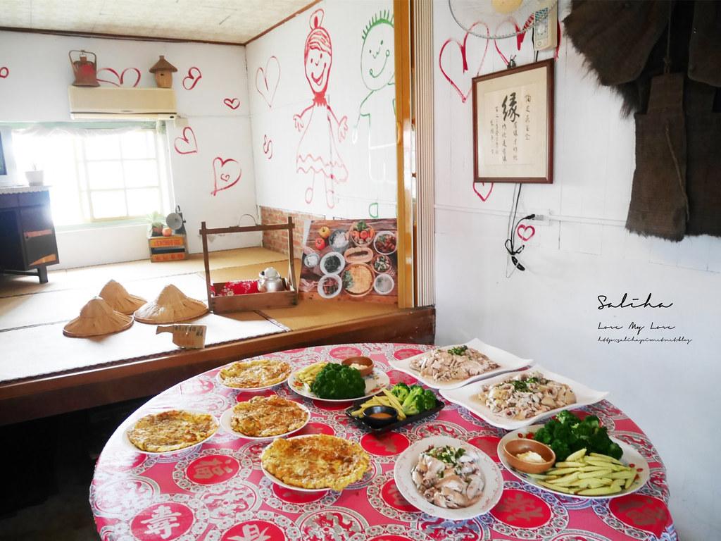 台南後壁區人氣美食餐廳鄉下農家美食富貴食堂好吃農家菜三合院餐廳 (1)