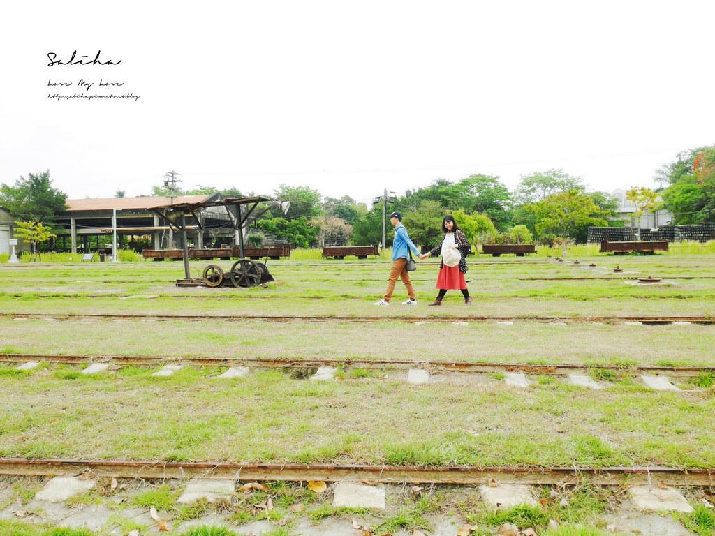 台南一日遊景點新營鐵道文化園區草原小火車火車迷鐵道迷必來 (2)