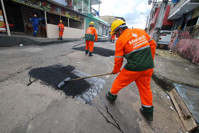22.04.21 - Mutirão de obras de infraestrutura do bairro Alvorada