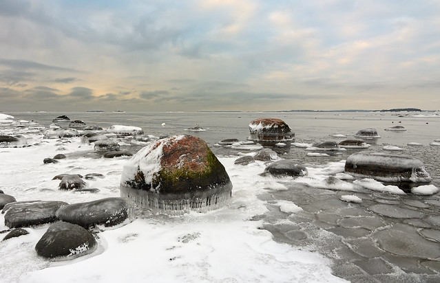 Icy rocks #2