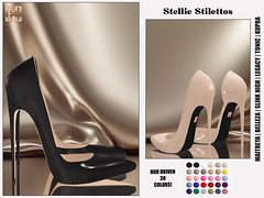 Hilly Haalan - Stellie Stilettos