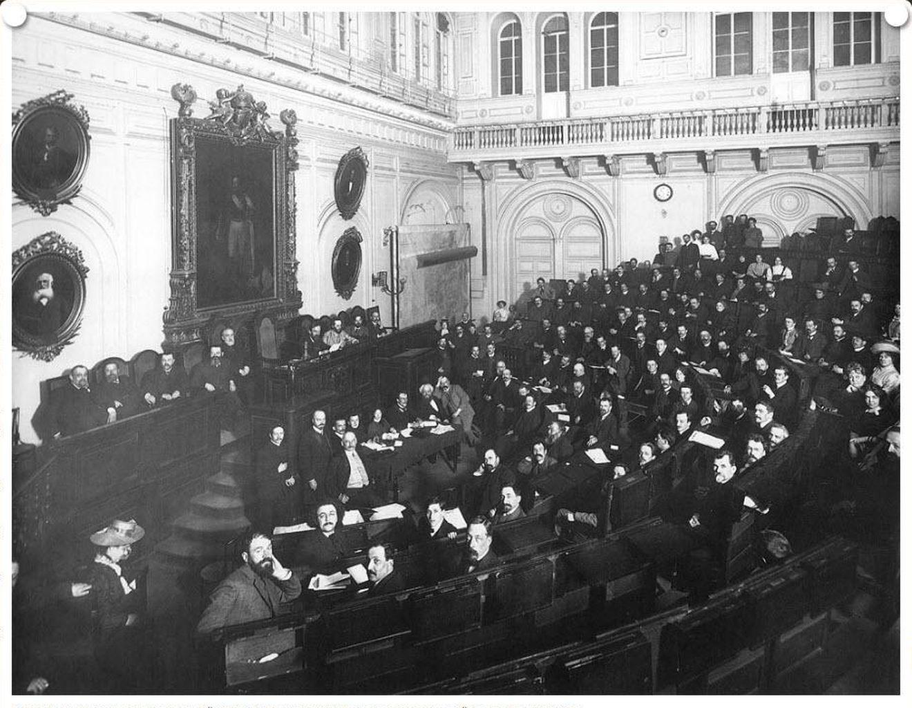 1912. Съезд представителей старообрядческих общин в зале Городской думы