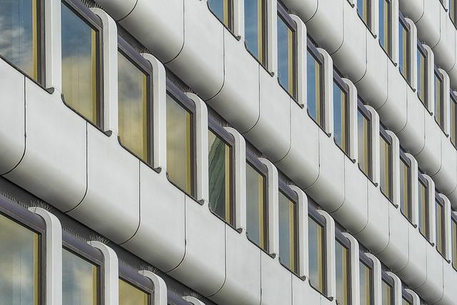 White building in Dortmund