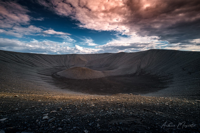 Hverfjall Volcano Crater (Iceland)