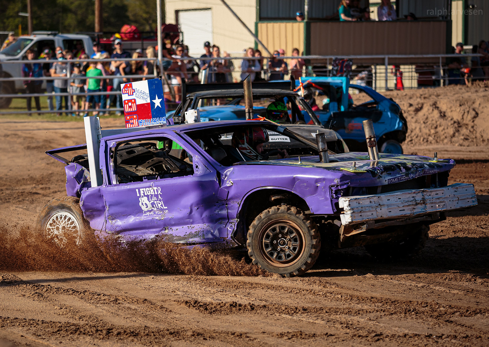 Demolition Derby | Texas Review | Ralph Arvesen