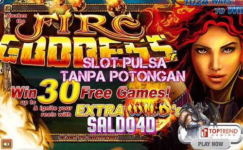 Judi Slot Fire Goddess Top Trend Gaming SALDO4D