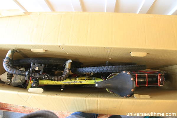 how to pack bicycle box 1