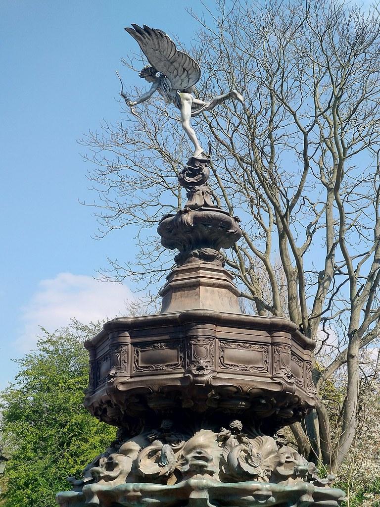Eros Statue, Sefton Park, Liverpool