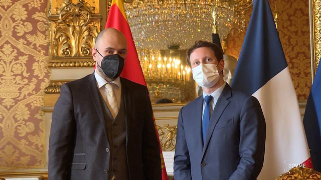 Đorđe Radulović - Kleman Bon, državni sekretar za evropske poslove Republike Francuske