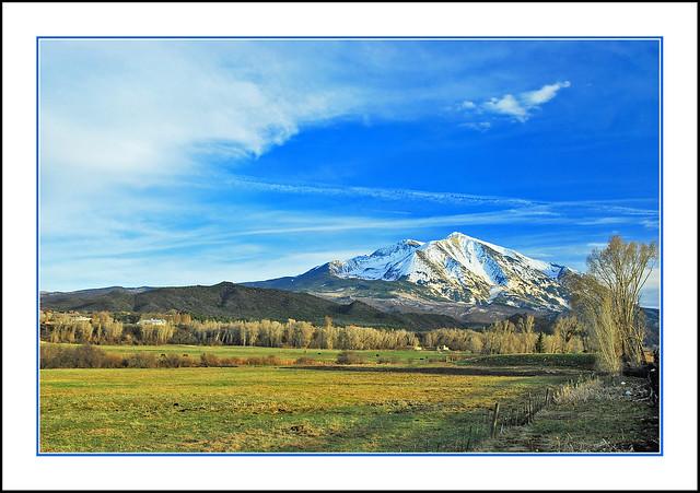 Mount Sopris in the Colorado Rockies