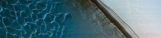 Mars - North Polar Layered Deposits Avalanche Monitoring
