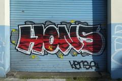 Hons graffiti, Dublin