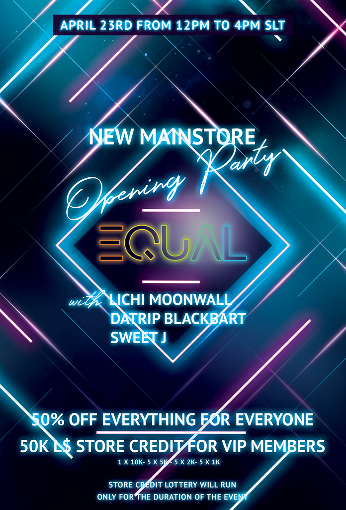 EQUAL - NEW MAINSTORE