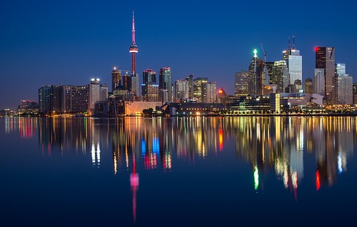 Toronto skyline. From Discover Canada: a Traveller's Guide