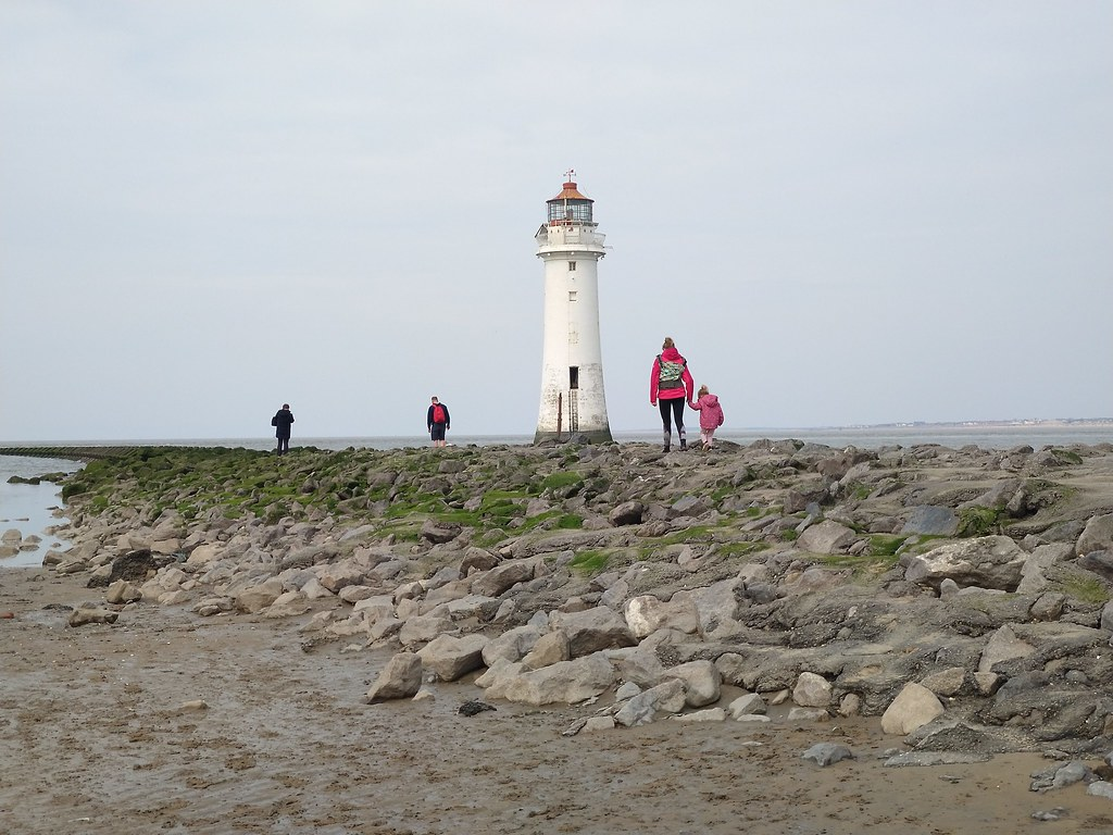 New Brighton Lighthouse, Liverpool