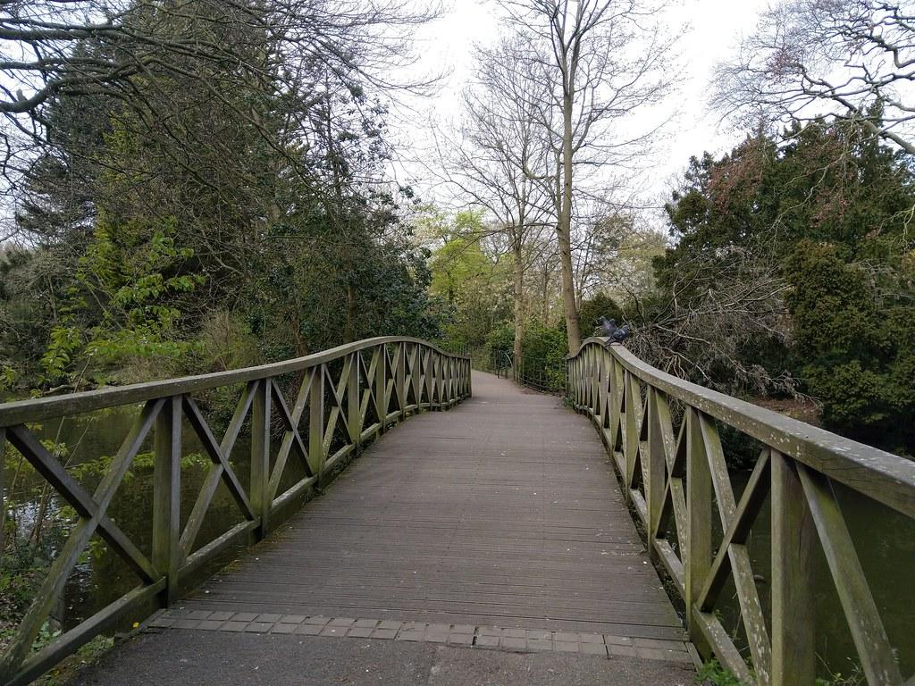 Bridge in Birkenhead Park, Liverpool